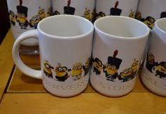#UniversalStudios Park #DespicableMe #Minion through time #Coffee Mug Cup