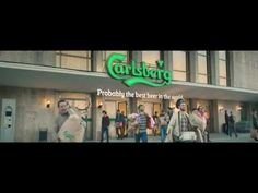 If Carlsberg did Supermarkets - a commercial for Danish beer brand Carlsberg features guys in a fantasy supermarket. Danish Beer, Funny Ads, Beer Brands, Best Beer, Short Film, Content Marketing, Make Me Smile, Campaign, Advertising