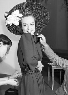 """deforest: """" Joan Crawford, 1939 """""""