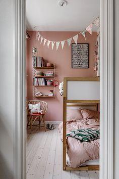 Baby Bedroom, Girls Bedroom, Ikea Girls Room, Kura Ikea, Creative Kids Rooms, E Room, Girl Bedroom Designs, Boho Room, Big Girl Rooms