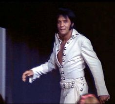 Delicious  |  Elvis |  striding back on stage after the audience walk - August 11, 1970 ~ 1st AUDIENCE WALK Las Vegas