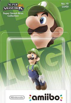 Amiibo Luigi Box Artwork