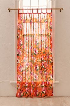 Poppy Window Curtain | Urban Outfitters