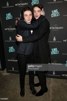Actors Mark McKenna (L) and Ferdia Walsh-Peelo attend The Weinstein Company…