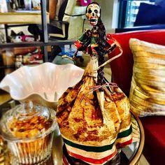 Love my hand-made Catrina Mexicana. #art #diadelosmuertos #mexicanart