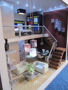 Miniaturas modernas loft actual varios 2