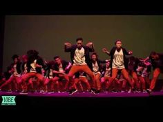 Amazing transitions and precision from this large group dance. Great fun to watch!