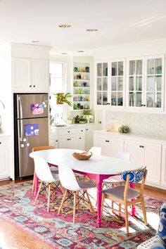 "That little ""drink sink"" area and the shallow shelves would make for a great coffee bar!"
