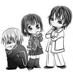 Zero, Yuki, and Kaname Zero, Yūki, oyobi kaname