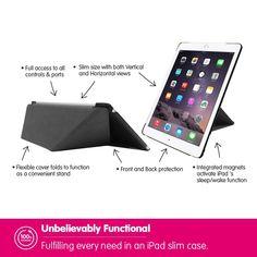 ipad air 2 case ozaki o coat simple horizontal vertical dual stand slim case for. Black Bedroom Furniture Sets. Home Design Ideas