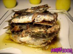 recette Conserve de sardines à l'huile : Recette conserve, Cuisine Femme Zoom, Recettes de cuisine ...