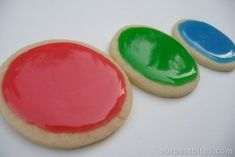 "Pinner said ""This is the best glaze I have found for my Christmas cookies! So bright and they really do shine"""