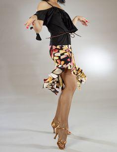 Dance skirt - Santoria - Oleander - Dance Apparel - TheGiftOfDance.net