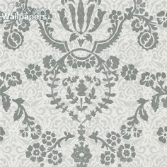This elegant and traditional flock wallpaper has a layered, hand-printed feel. A distinguished design, it features a graceful vintage damask print that sits beneath the ornate flock stencil. It's based on an antique pattern that's both understated and stylish, and is guaranteed to bring a decadent feel to any interior.