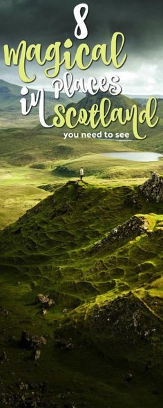 Scotland arguably has some of the best scenery in the world. From the Highlands to Edinburgh, I'll be sharing my top 8 magical places in Scotland. Places In Scotland, Scotland Trip, Scotland Travel, Visiting Scotland, Ireland Travel, Scotland Castles, Skye Scotland, Edinburgh, Glasgow