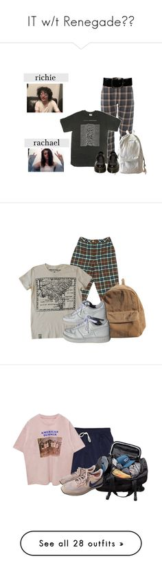 """""""IT w/t Renegade🎈💯"""" by wheezy-kaspbrakk ❤ liked on Polyvore featuring Chanel, WithChic, Dr. Martens, NIKE, American Apparel, Patagonia, Opening Ceremony, Converse, Relic and Topshop"""