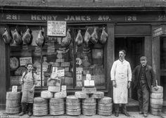 The Face of Shrewsburys Trade: Amazing Vintage Photographs Captured Shropshire Shop Fronts in 1888 ~ vintage everyday