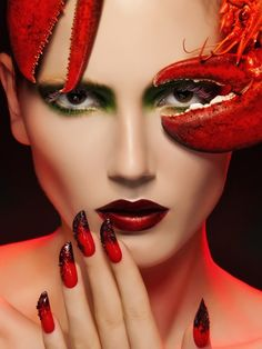 ~Fabulous lobster make up | The House of Beccaria#