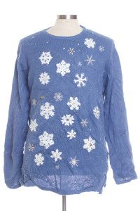 Blue Ugly Christmas Pullover 29087