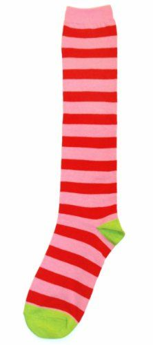 Pink Red Stripe Womens Knee High Sock - Sock It to Me Sock It To Me http://www.amazon.com/dp/B00AKO57M2/ref=cm_sw_r_pi_dp_tQ65tb11BD5KX