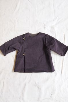 Makie Corduroy Baby Jacket - violet