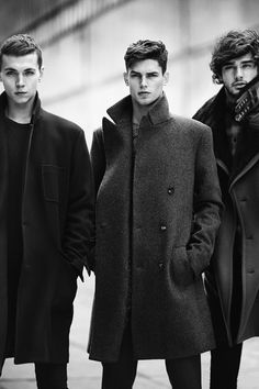 Strange Foreign Beauty - Yuri Pleskun, Arthur Gosse & Marlon Teixeira | Zara Menswear Fall/Winter 2013-14
