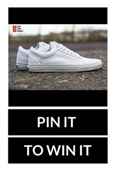 PLEASE NOTE: THIS COMPETITION HAS NOW ENDED! This week we're giving away a pair of Vans! To be in with a chance of winning, just simply re-pin this post, follow us and comment telling us why we should pick you! #freebiefriday #pinterestcompetiton *Subject to availability. Competition closes at 5pm. Winner announced on our Facebook page on.fb.me/1NFgX83