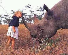"Don't Kiss Our Rhinos Goodbye"" please share this if you support anti-poaching in Kenya!"