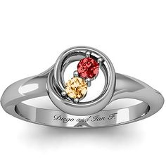 Mothers Ring for two children.