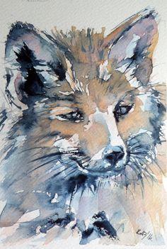 Red fox by kovacsannabrigitta on DeviantArt