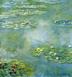 Claude Monet | Water Lilies | 1908