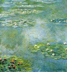 Claude Monet | Water Lilies | 1908