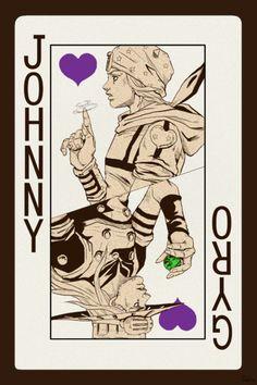 Hirohiko Araki - Johnny X Gyro
