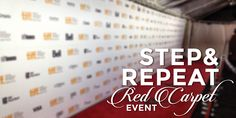 Red carpet event, step and repeat, custom backdrops, red carpet backdrop, step and repeat backdrop