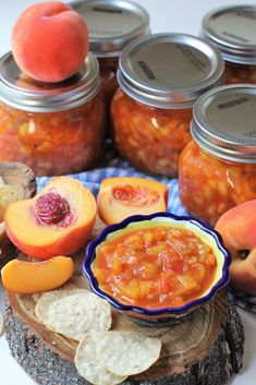 Peach Salsa Recipe For Canning, Salsa Canning Recipes, Peach Salsa Recipes, Best Salsa Recipe, Canning Salsa, Chutney Recipes, Homemade Salsa For Canning, Canning Tips, Sweet Salsa