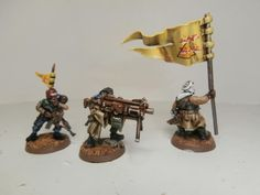 Conversion, Imperial Guard, Tallarn Desert Raiders