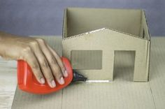 cardboard house models inspirational how to build a cardboard model house paper houses of cardboard house models Cardboard Houses For Kids, Cardboard Dollhouse, Cardboard Model, Paper Houses, Diy Dollhouse, Victorian Dollhouse, Modern Dollhouse, Dollhouse Miniatures, School Projects