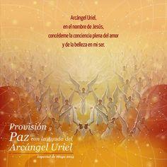"""Especial del Mes: """"Provisión y Paz con la Ayuda del Arcángel Uriel""""  #Frases #EspecialDelMes #Arcangel #Uriel #TocandoCielo #Provisión #Paz #Mayo www.tocandocielo.com"""