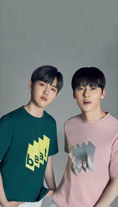 Wanna One Kim Jaehwan and Hwang Minhyun X Ce& Wallpaper