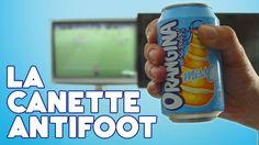 La #CanetteAntiFoot d'Orangina Miss O !