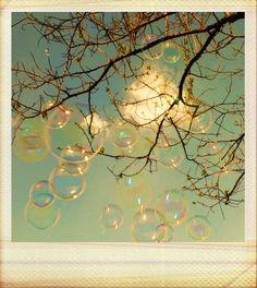Bubbles #polaroid #vintage #photo