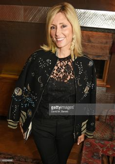 Princess Marie Chantal of Greece attends the Farms Not Factories #TurnYourNoseUp at Pig Factories benefit dinner 'Upstairs' at 5 Hertford Street on January 31, 2017 in London, England.