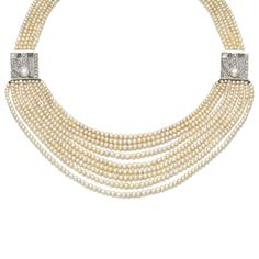 SEED PEARL NECKLACE, EARLY 20TH CENTURY