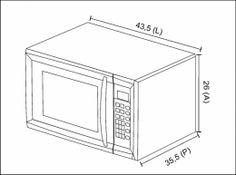 BLT MO 20 - FORNO MICRO-ONDAS 20 LITROS DE BANCADA SILVER - nicho - Built Eletrodomésticos