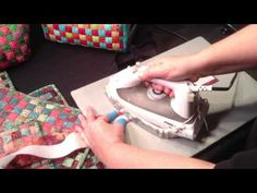 Fabric strip weaving for bag making – video – Sew Modern Bags