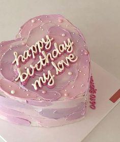 Pretty Birthday Cakes, Pretty Cakes, Beautiful Cakes, Amazing Cakes, Cake Birthday, Birthday Cake Decorating, Pink Birthday, Birthday Decorations, Birthday Ideas
