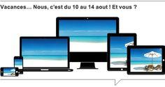 Des vacances responsives pour l'équipe de E SYSTEMES, développement de sites web à Lille http://www.e-systemes.com