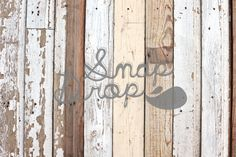 Photography Backdrop  White Wood Floor II  4 ft by SnapDropStudios, $43.99