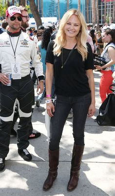 Pin for Later: Ces Idylles Vont-Elles Durer? Malin Akerman and Colin Egglesfield