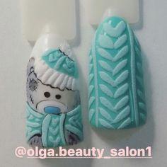 1000 nail art Ideas nail designs naildesignchristmas naildesignrosa na Xmas Nails, Holiday Nails, Diy Nails, Cute Nails, Christmas Nail Designs, Christmas Nail Art, Nail Design Rosa, Nail Art Videos, Sweater Nails